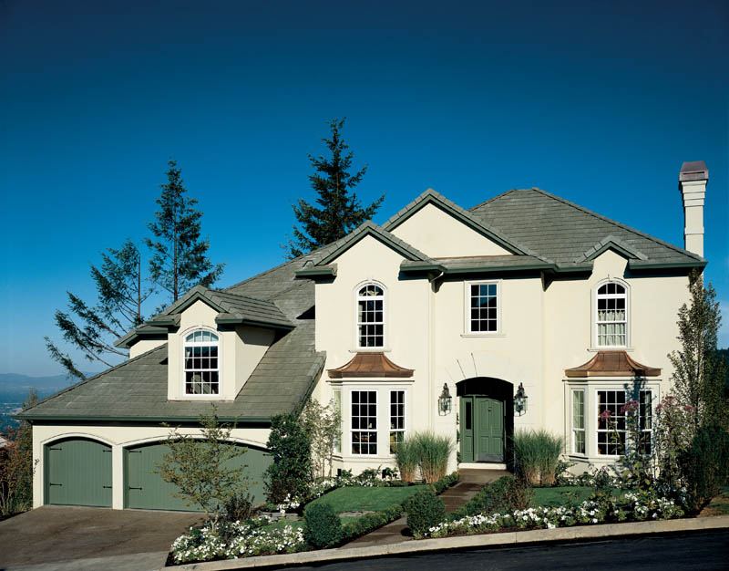 European House Plan Front of Home 011D-0191