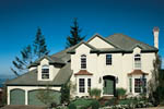 European House Plan Front of Home - 011D-0191 | House Plans and More
