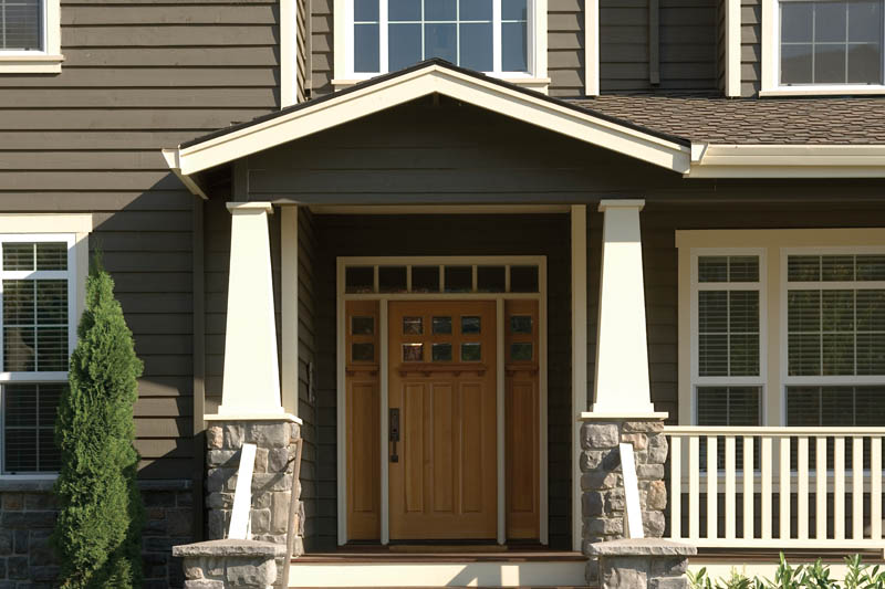 Country House Plan Door Detail Photo 011D-0193