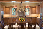 Vacation Home Plan Dining Room Photo 01 - 011D-0220 | House Plans and More