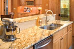 Vacation Home Plan Kitchen Photo 02 - 011D-0220 | House Plans and More