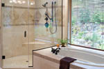 Vacation Home Plan Master Bathroom Photo 01 - 011D-0220 | House Plans and More