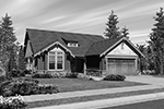 Craftsman House Plan Front Image of House - 011D-0222 | House Plans and More