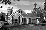 Ranch House Plan Front Image of House - 011D-0224 | House Plans and More