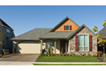 Ranch House Plan Front of Home - 011D-0224 | House Plans and More