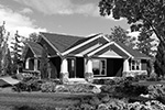 Craftsman House Plan Front Image of House - 011D-0225 | House Plans and More