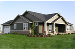 Craftsman House Plan Front of Home - 011D-0225 | House Plans and More