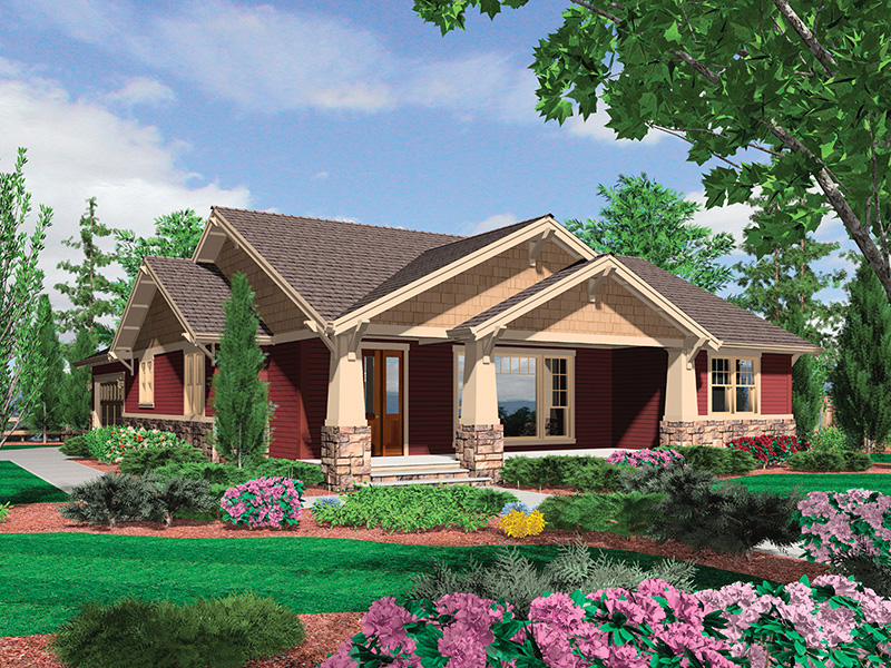 Craftsman House Plan Front Photo 04 - 011D-0225 | House Plans and More