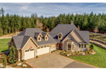 Country House Plan Aerial View Photo 02 -  011D-0229 | House Plans and More