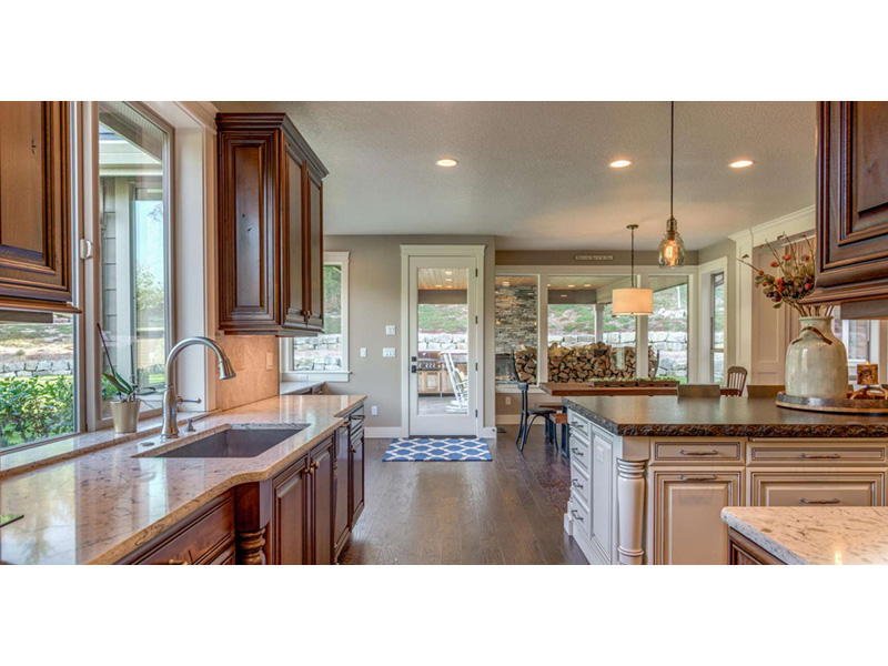 Ranch House Plan Kitchen Photo 01 - 011D-0229 | House Plans and More