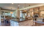 Ranch House Plan Kitchen Photo 03 - 011D-0229 | House Plans and More