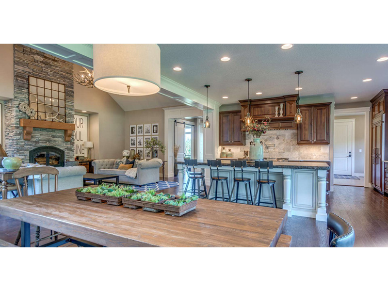 Country House Plan Kitchen Photo 07 -  011D-0229 | House Plans and More