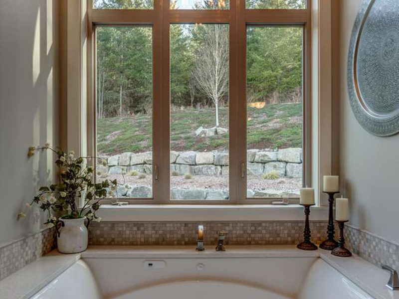 Ranch House Plan Master Bathroom Photo 04 - 011D-0229 | House Plans and More