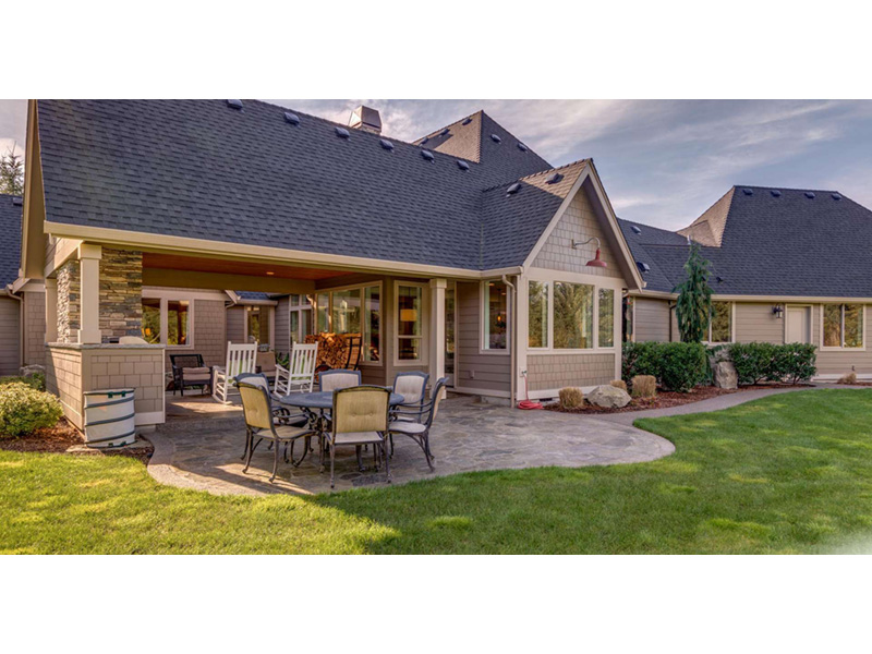 Country House Plan Outdoor Living Photo 01 -  011D-0229 | House Plans and More