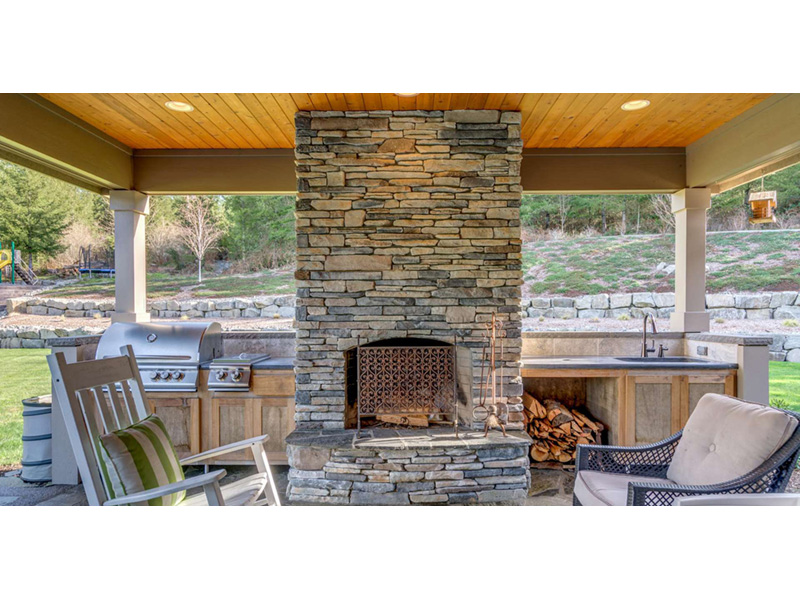 Ranch House Plan Outdoor Living Photo 02 - 011D-0229 | House Plans and More