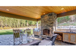 Ranch House Plan Outdoor Living Photo 03 - 011D-0229 | House Plans and More
