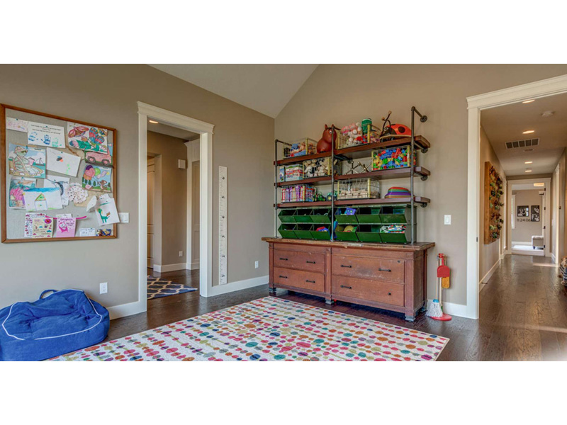 Ranch House Plan Playroom Photo - 011D-0229 | House Plans and More