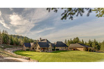 Ranch House Plan Rear Photo 01 - 011D-0229 | House Plans and More
