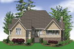 Ranch House Plan Rear Photo 03 - 011D-0229 | House Plans and More