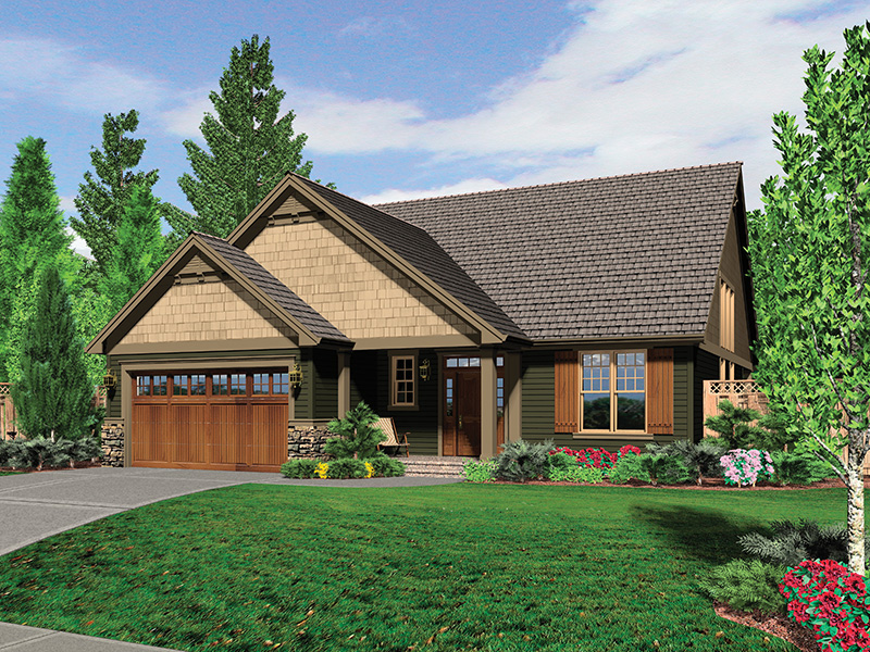 Arts & Crafts House Plan Front Photo 01 - 011D-0233 | House Plans and More