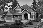 Craftsman House Plan Front Image of House - 011D-0238 | House Plans and More