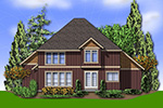 Country House Plan Rear Photo 01 - 011D-0238 | House Plans and More