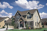 European House Plan Front Photo 03 -  011D-0239 | House Plans and More