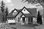 Traditional House Plan Front Image of House - 011D-0243 | House Plans and More