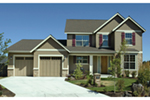 Traditional House Plan Front of Home - 011D-0245 | House Plans and More