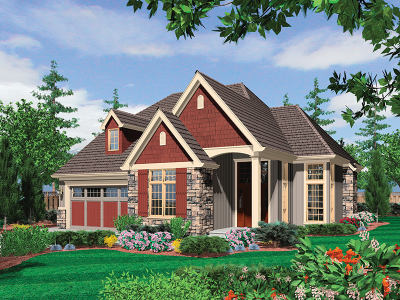 Rustic Home Plan Front Image - 011D-0246 | House Plans and More