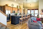 Rustic Home Plan Kitchen Photo 02 - 011D-0246 | House Plans and More