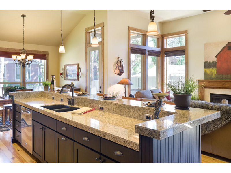 Rustic Home Plan Kitchen Photo 03 - 011D-0246 | House Plans and More