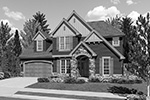 European House Plan Front Image of House - 011D-0248 | House Plans and More