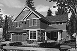 Traditional House Plan Front Image of House - 011D-0252 | House Plans and More