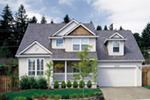 Traditional House Plan Front of Home - 011D-0258 | House Plans and More