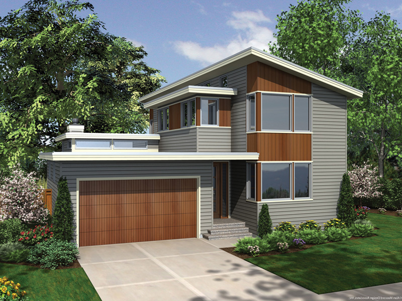 Side View Photo 01 -  011D-0267 | House Plans and More