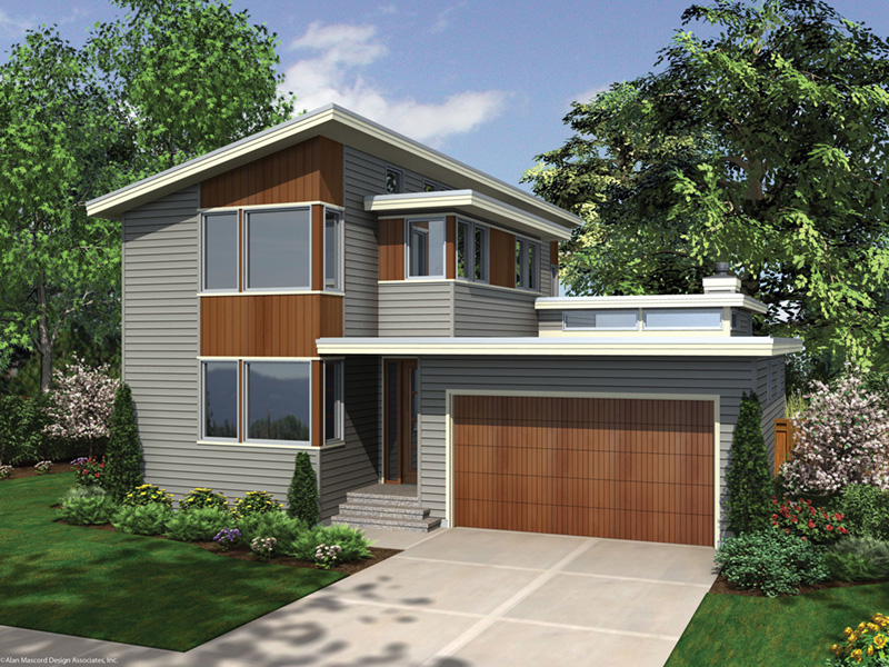 Side View Photo 02 -  011D-0267 | House Plans and More