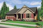 Ranch House Plan Front Image - 011D-0286 | House Plans and More