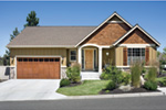 Ranch House Plan Front Photo 06 - 011D-0286 | House Plans and More