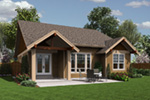 Arts & Crafts House Plan Rear Photo 01 - Holbrook Craftsman Home 011D-0307 | House Plans and More