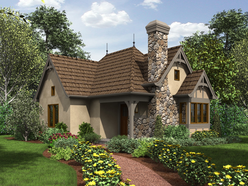 Luxury House Plan Front of Home - 011D-0312 | House Plans and More