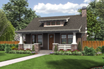 Cabin & Cottage House Plan Front of Home - 011D-0315 | House Plans and More