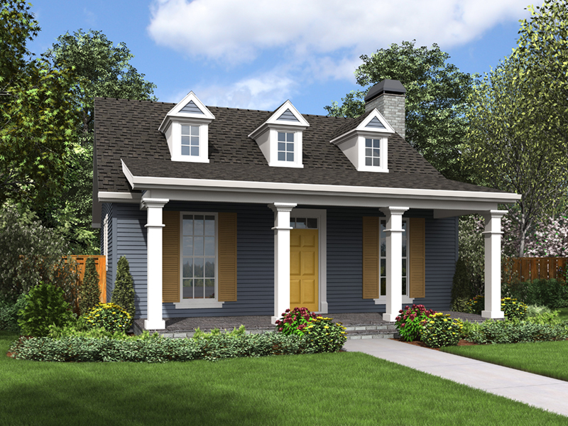 Cabin & Cottage House Plan Front of Home - 011D-0316 | House Plans and More