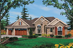 Arts & Crafts House Plan Front Image - Richert Ranch Home 011D-0317 | House Plans and More