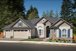 Arts & Crafts House Plan Front Photo 02 - Richert Ranch Home 011D-0317 | House Plans and More