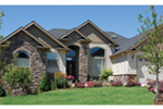 Arts & Crafts House Plan Front Photo 06 - Richert Ranch Home 011D-0317 | House Plans and More
