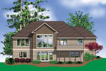 Arts & Crafts House Plan Rear Photo 01 - Richert Ranch Home 011D-0317 | House Plans and More