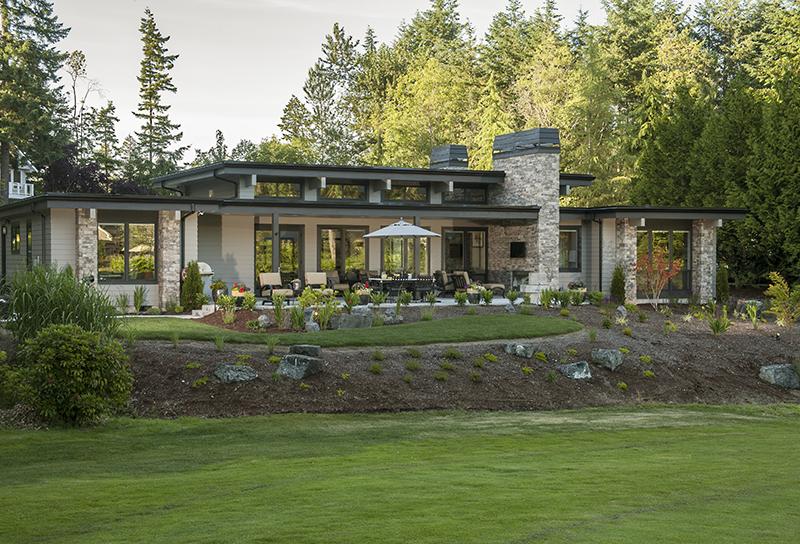 Southwestern House Plan Rear Photo 01 - Harris Modern Prairie Home 011D-0335 | House Plans and More
