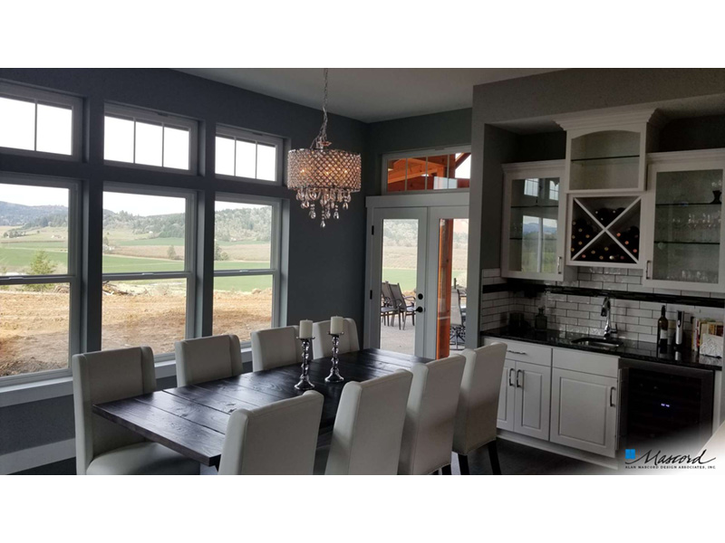 Rustic Home Plan Dining Room Photo 01 - Leigh Lane Country Ranch Home 011D-0347 | House Plans and More