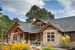 Rustic Home Plan Front Photo 01 - Leigh Lane Country Ranch Home 011D-0347 | House Plans and More